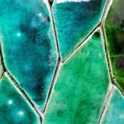 mosaic turquoise metallic