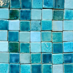 sea foam mosaic