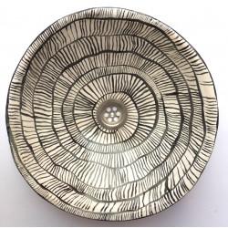 Keramikwaschbecken Schnecke