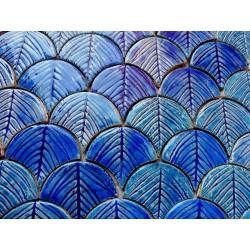 Niebieska palma