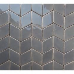 Keramikfliesen graue Diamanten