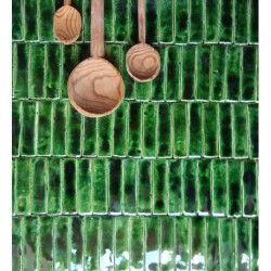 mozaika zielony fortepian