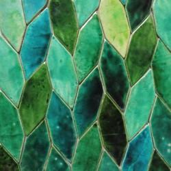 fogliame- green-turquoise...