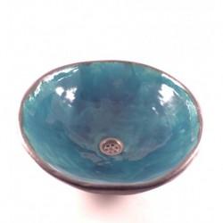 sink Turquoise & graphite