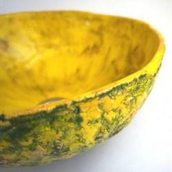 Keramikwascbecken Ananas